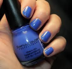 sinful colors endless blue heidi u0027s polish