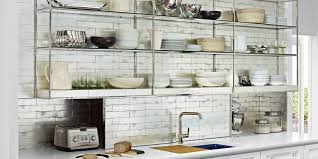 kitchen shelves ideas kitchen design pictures kitchens with open shelving thin stainless