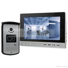 front door video camera 10 inch wired video door phone doorbell home security intercom