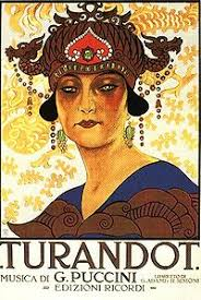 The story about Turandot,a Chinese Princess and Calaf,a Muslim Prince