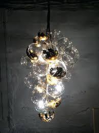 Glass Bubble Chandelier Glass Bubble Light Chandelier Height 40cm Murano Due Bubble Glass