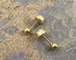 back earrings for toddlers back earrings etsy
