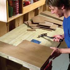 Tools Needed For Laminate Flooring Simple Ways To Make Your Workbench Work Harder Laminate Flooring