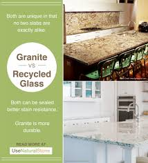 granite vs recycled glass countertops what is the difference recycled glass