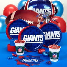 new york giants football party ideas themeaparty