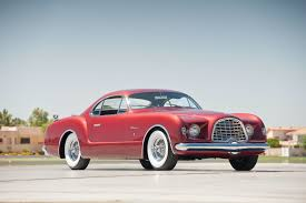 concept car of the week chrysler d u0027elegance 1952 car design news