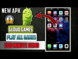 apk min 128kbps new apk new gloud with 200 min trail per day
