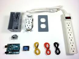 touch l on off plug in control turn any appliance into a smart device with an arduino controlled