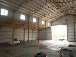 residential using pole barn metal truss system pole barn garages