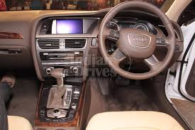 2010 audi a4 features 2012 audi a4 in india review indiandrives com