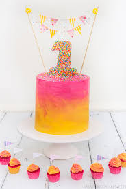 1st Birthday Cake Raspberri Cupcakes Sarah U0027s 1st Birthday Cake And Owl Cupcakes