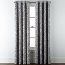 Black And Gray Curtains Gray Curtains Drapes For Window Jcpenney