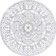 intricate mandala coloring pages bing images mandalas and