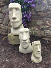 easter island sculpture statues ebay