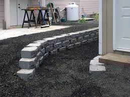 concrete slab ajb landscaping u0026 fence