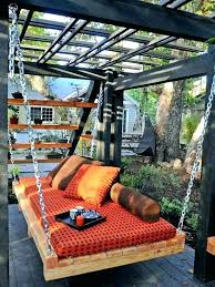 outdoor floating bed outdoor hanging bed diy younited co
