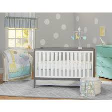 Baby Nursery Sets Furniture Garanimals Animal Crackers 3 Crib Bedding Set Walmart