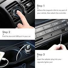 How To Put An Aux Port In Your Car Amazon Com Iclever Himbox Bluetooth Car Receiver Wireless Hands