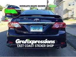 2012 toyota corolla custom grafixpressions express yourself in vinyl form