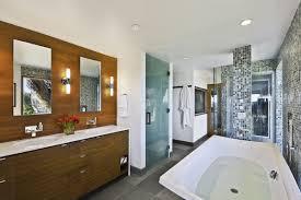Midcentury Modern Bathroom by Bath Sinks Shower Mid Century Modern Home In Santa Barbara