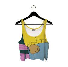 Meme Baby Fist - arthur s fist crop top 34 95 usd beloved shirts
