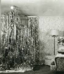 silver tinsel christmas tree the christmas tree bill kasal