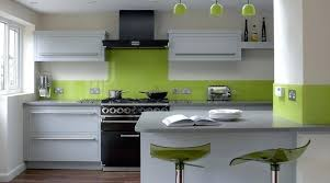 kitchen color schemes with cream cabinets light wood dark