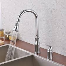 kitchen faucet kitchen sink faucet pull down with 2 funtion kes kitchen faucet kitchen sink faucet pull down with 2 funtion swivel spray head two hole mount
