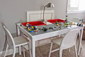 Ikea Ingo Table by A Little Of This A Little Of That Diy Lego Table