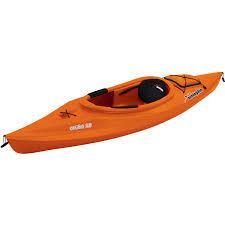 sun dolphin aruba 10 u0027 sit in kayak paddle included walmart com