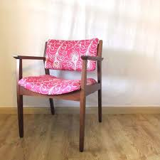 Krug Office Furniture by Hand Crafted Refinished Vintage Krug Chair In Walnut With