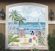 Tile Murals For Kitchen Backsplash Custom Hand Painted Tiles 39 Best Swimming Pool Tiles Custom And