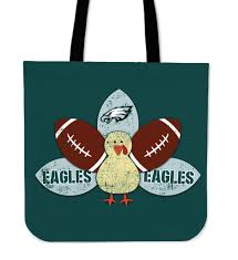 thanksgiving philadelphia eagles tote bags best store