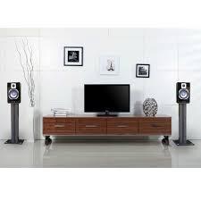powered 500 watt studio monitor speakers with 5