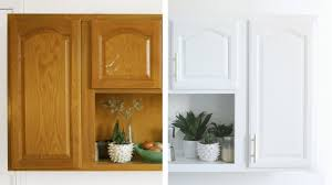 white kitchen cabinets with cathedral doors 3 step kitchen cabinet makeover