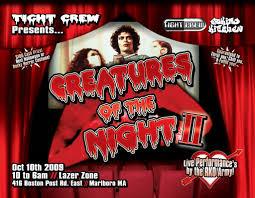 halloween horror nights 2009 10 10 tight crew creatures of the night ii 1 10 10 2009