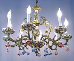 porcelain chandelier roses extraordinary porcelain chandelier in luxury home interior
