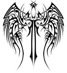 spine sword tribal wing tattoos tips for