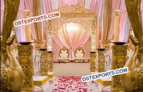 Beautiful Wedding Stage Decoration Asian Wedding Stages