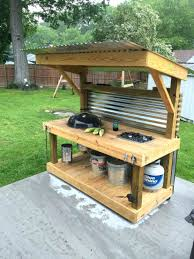 diy grill table plans grill tables menu diy table plans for kamado infosavvygroup com