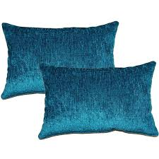 Eaton Teal Decorative Throw Pillow Set of 2 Free Shipping