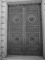 Wooden Door File Antique Wooden Door Near Puerta Del Sol Madrid Black And