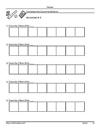count by two mathematics worksheets
