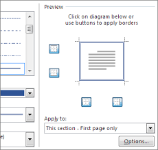 add change or delete borders from documents or pictures office