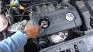 volkswagen polo 2005 vw polo oil u0026 filter change youtube
