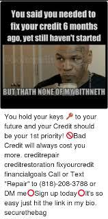Bad Credit Meme - credit repair memes repair best of the funny meme