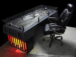han frozen carbonite executive desk le bureau han pour