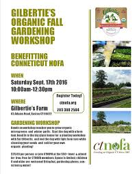 gilbertie u0027s hosts organic fall gardening workshop fairfield