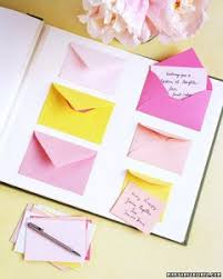 wedding wishes envelope guest book diy envelope guest book your guests write a note to you