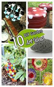 Garden Art To Make - 10 cute recycled garden art ideas u2013 dollar store crafts
